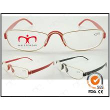 Heiße verkaufende bunte Tr90 Tempel Metall optische Rahmen (WRM503019)