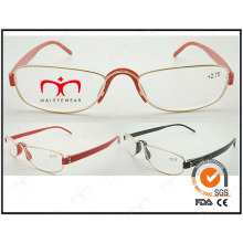 Hot Selling Colorful Tr90 Temples Metal Optical Frames (WRM503019)