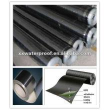 Betún modificado autoadhesivo material impermeable