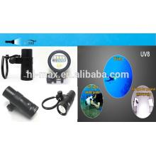 LED éclairage professionnel plongée sous-marine compresseur d'air portable compresseur de plongée