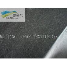 polyester taffetas floqué tissu pour ameublement