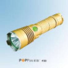 Золотой CREE Xm-Lu2 светодиодный фонарик факел света (F20)