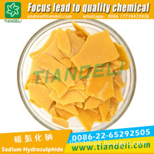 sodium sulphide yellow/red flakes 60%min