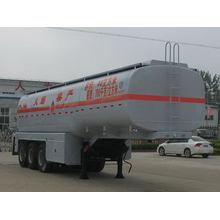 28T Three Axles Fuel Tank نصف مقطورة