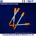 Disposable 1cc Insulin Syringes 0.5cc Insulin Syringes 0.3cc Insulin Syringes (ENK-YDS-045)