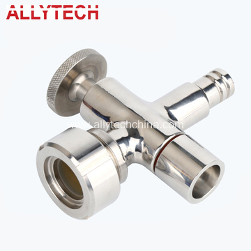 Stainless Steel Hygienic Level Valve Pipe Fitting