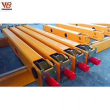 double girder gantry crane end carriage ,end travelling beam for sale