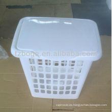 molde de cesta de basura de plástico