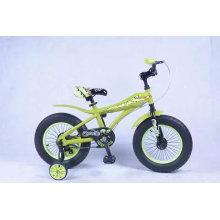 16 pouces gros nouveau modèle enfant pas cher vélo / vélo prix / quatre enfants de roues d'entraînement vélo pendant 3 ans vieux