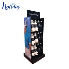 suporte de exposição de silicone para acessórios do telefone móvel