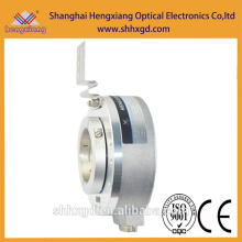 Hengxiang K100 encoder Rotary Potentiometer 10k Distance Measuring Hollow Shaft Encoder ABZ phase,PNP output