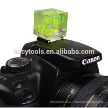 Nivel de burbuja de la cámara