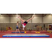 Высокое качество падение стежка надувные гимнастика матрас