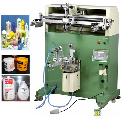 Cylinder Water Bucket and Bowl Screen Printer