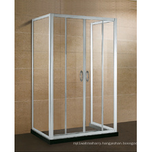 Three Side Alcove Glass Shower Enclosure