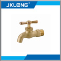 water tap faucet brass bibcock CW617n material with forged blasting female with ppr full port one way nickel-plated