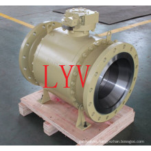 Class 150 Flanged Stainless Steel Floating Ball Valve with Fire Safe Design