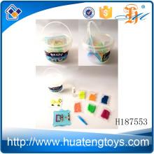 H187553 Pädagogische Spielwaren fördernde Kinder Plastikwasser diy Korninstallationssätze für Verkauf
