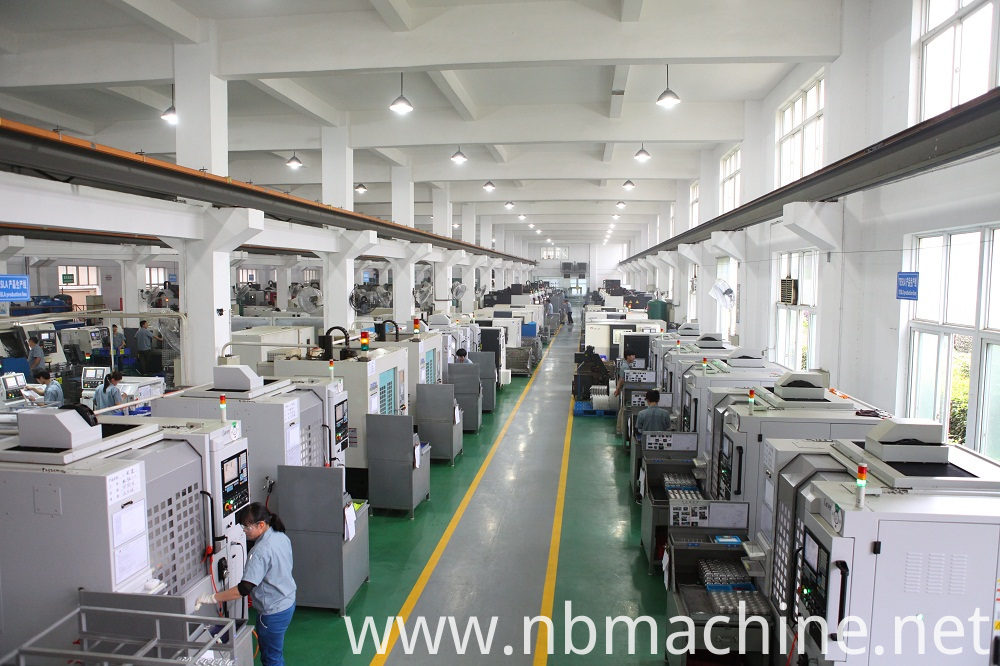 CNC machining parts workshop
