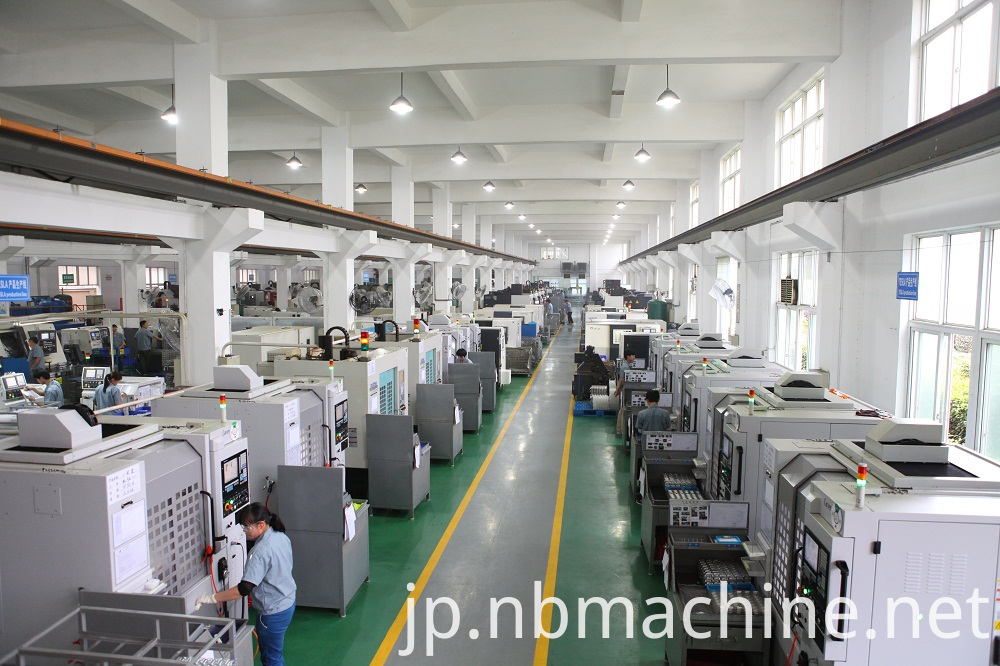 Brass connector machining parts workshop