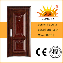 Diseño de la puerta de entrada exterior de la India