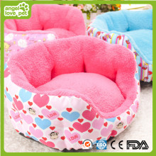 Lovely Canvas Fabric Pet Bed for Dog and Cat