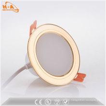 Plafonnier LED encastré en aluminium de 5 W