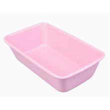 Розовый антипригарный противень для выпечки лазаньи