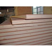 Contreplaqué sandwich 1220 * 2440mm pour meubles et construction