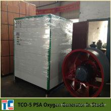 Завод по производству кислорода TCO-5 со стандартом CE в запасе