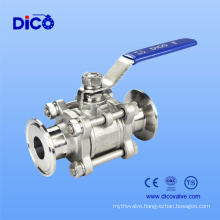 Sanitary Quick Install 3PC Ball Valve