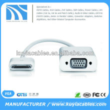 Dock Connector to VGA Female Adapter Cable for iPad 2 3 iPhone 4S 4G