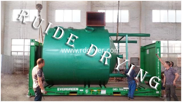 Pulverized coal drying machine