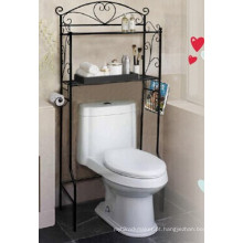 Mobília nova Design prateleira banheiro carrinho de exposição (GDS-BR01)