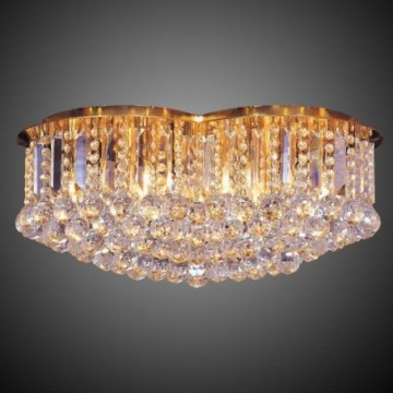 Vardagsrum Crystal Ceiling Light Fixture