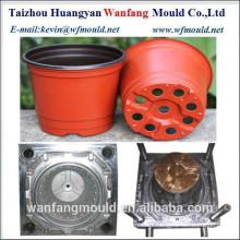 custom design flower pot mold/oem factory direct sale plastic plant pot injection mould