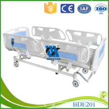 BDE201 ABS And Steel Frame Three Function Electric Adjustable Hospital ICU Patient Bed