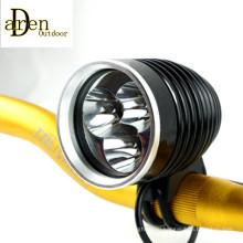 3 X CREE Xm-L T6 светодиодный 3600lm велосипедов свет фары фары 13V 7000mAh