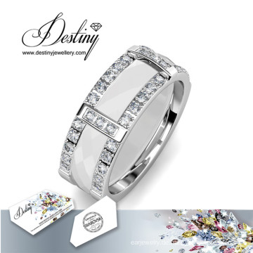 Schicksal Schmuck Kristalle von Swarovski Fusion Ring