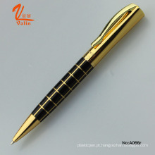 High-End Thick Promotional Business caneta caneta esferográfica de ouro