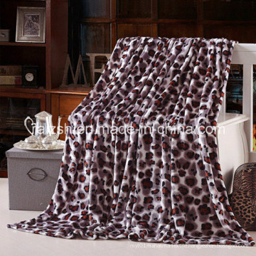 Super Soft 100%Polyester Printed Flannel Fleece Blanket