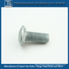 Hot Dipper Galvanized Carbon Steel Fencing Bolts