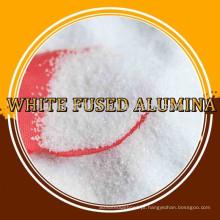 Alumina fundida branca para abrasivo e refratário
