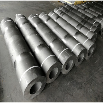 Graphite Electrode for arc furnace With 4TPI NIpples