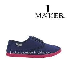 2016 zapatos ocasionales de la lona de la moda F044-L