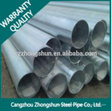 Acero gi Pipe Erw Carbono de acero Q235 Q345
