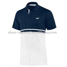 camiseta de los hombres del logotipo de la impresión de los deportes baratos para los hombres