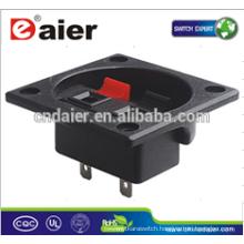 Daier WP2-12 2P Clip Spring Black& Red Speaker Terminal Board Wire Terminal Clip