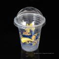 Чашки пюре 12oz изготовленные на заказ PP пластичные устранимые с крышкой