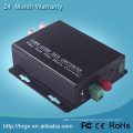 Hongrui factory price 2-CH Analog signal to digital signal fiber optical video to wifi converter
